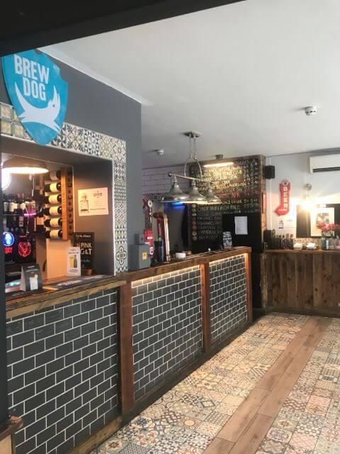 Scottish Stores bar area